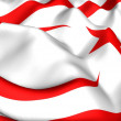 Flag of Northern Cyprus - Stock Photo