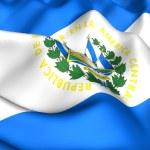 Flag of El Salvador — Stock Photo #4890135