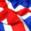 Flag of Iceland — Stock Photo #4890228