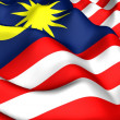 Flag of Malaysia — Stock Photo #4890348