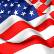 Flag of USA — Foto de stock #4890724