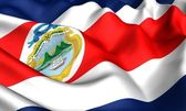 Flag of Costa Rica — Stock Photo