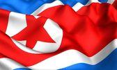 Flag of KNDR — Stock Photo