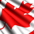 Flag of Canada — Stock Photo