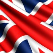 Flag of UK — Stock Photo