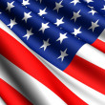 ABD bayrağı — Stok fotoğraf