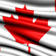 Stock Photo: Flag of Canada