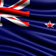 Flag of New Zealand — Stock Photo #4990910