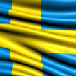 Flag of Sweden — Stock Photo