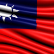 Flag of Taiwan — Stock Photo #4991168