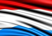 Flag of Luxemburg — Stock Photo