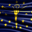 Stock Photo: Flag of Indiana