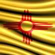 Flag of New Mexico — Stock Photo #5044471