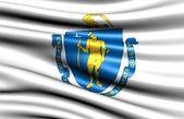 Flag of Massachusetts — Stock Photo