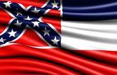 Flag of Mississippi — Stock Photo
