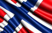 Flag of Norway — Stockfoto