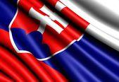Drapeau de la slovaquie — Photo