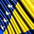 Royalty-Free Stock Photo: Flag of Bosnia and Herzegovina