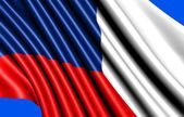 Flag of Czech republic — Stock Photo