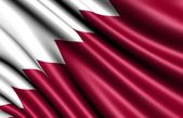 Flag of Qatar — Stock Photo
