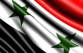 Flag of Syria — Stock Photo