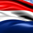 Flag of Netherlands - Stock Photo