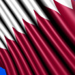 Stock Photo: Flag of Qatar