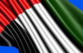 Flag of United Arab Emirates — Stock Photo