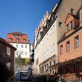 Saxonia straat — Stockfoto