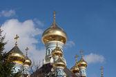 Ortodoxa kupoler — Stockfoto