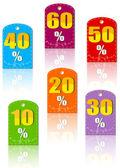 Etiquetas de preço — Vetorial Stock