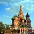 vasiliy blazhenniy church in moscow — Stock Photo