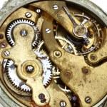 Old pocket watch rusty gear — Stock Photo #2887806