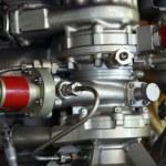 Part of spaceship engine — Stock Photo