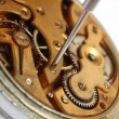 Old watch repair close-up — Stock Photo