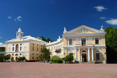 Grand palace in Pavlovsk park — Stock Photo