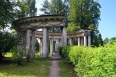 Apollo colonnade in Pavlovsk park — Stock Photo