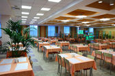 Restaurant dinning hall — Stock Photo