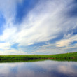 Lake and sky background — Stock Photo #2941718