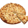 Sweet apple pie - Stock Photo