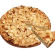 Sweet apple pie — Stock Photo