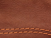 Brown leather suede — Stock Photo