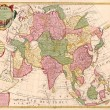 Ancient map of Asia - Photo