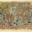 Map of ancient world — Stockfoto