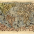 Map of ancient world — Stock fotografie