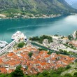 Panoramic view of Kotorska bay — Stock Photo #3552254
