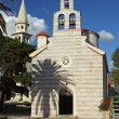 Church of Holy Trinity in Budva, Montenegro — Stock Photo #3552478