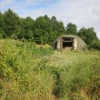 Military bunker in Albania - Stock Photo