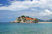Sveti Stefan island, Montenegro — Stock Photo