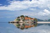 Sveti Stefan island in Montenegro — Stock Photo